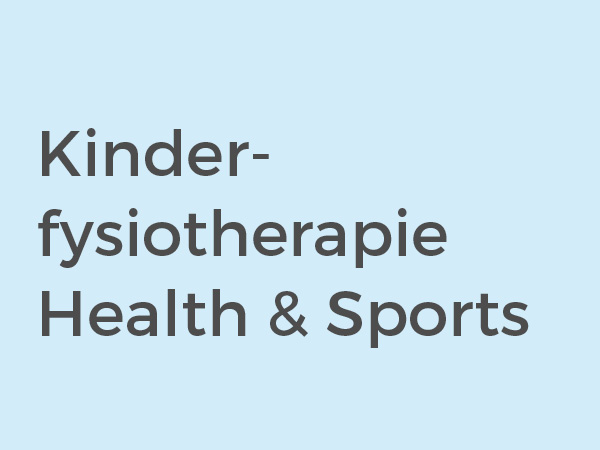 Kinderfysiotherapie Health & Sports